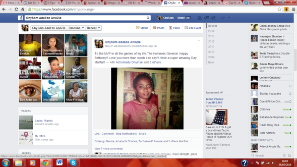 mummy's FB post