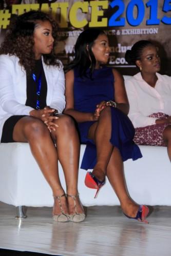 Joyce Jacob (Joyce Jacob Beauty), Theodora Mogo (Doranne Beauty) & Ifeoma Adefemi (iPosh Looks)