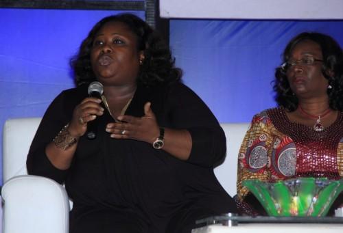 Jumoke Fasuyi (Bridal Gallery) & Mosunmola Olulade (The Elect Aso-oke)