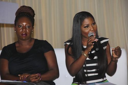 Lara Bankole (All A Bride Needs) & Bisola Borha (TrendyBEE Events)